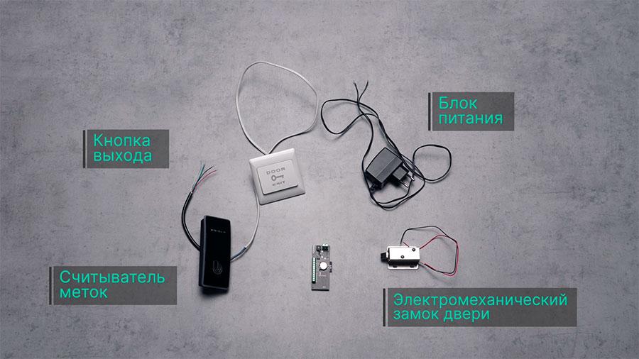 Подключение управляемых устройств к контроллеру Пропускатор